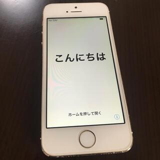 アイフォーン(iPhone)のチャンジュン様専用 iPhone 5s ゴールド 16GB(スマートフォン本体)