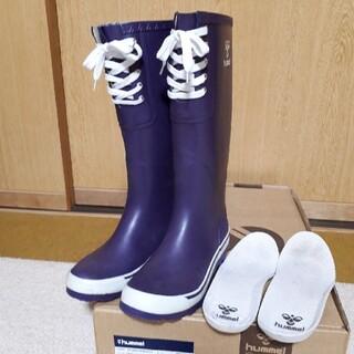 ヒュンメル(hummel)のhummel ラバーブーツ(長靴)(レインブーツ/長靴)