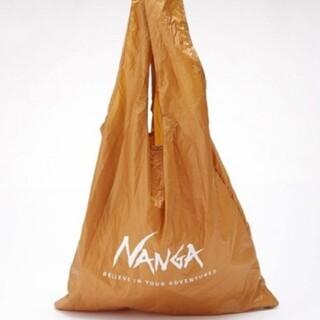ナンガ(NANGA)のナンガ ポケッタブル エコバッグ ゴールド(エコバッグ)