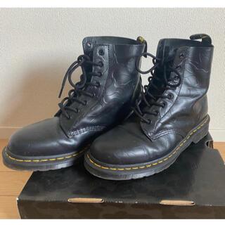 アベイシングエイプ(A BATHING APE)のAPE×Dr.martens エイプ ドクターマーチン 8ホール ブーツ(ブーツ)