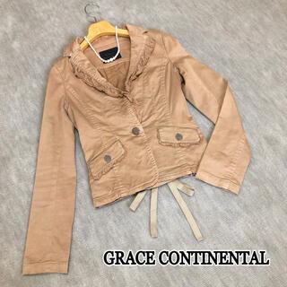 グレースコンチネンタル(GRACE CONTINENTAL)の【グレースコンチネンタル】秋色❁︎大人可愛いデザインジャケット(その他)