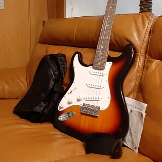 エレキギター ストラトキャスタータイプ レフティー 左利き(エレキギター)