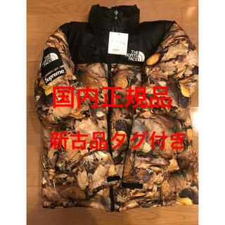 シュプリーム(Supreme)の名作 supreme north face  枯葉 nupste jacket(ダウンジャケット)