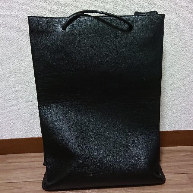 Balenciaga(バレンシアガ)のBALENCIAGA ノースサウス トートバッグ ブラック メンズのバッグ(トートバッグ)の商品写真