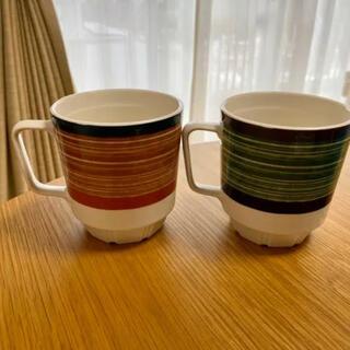 ウニコ(unico)のunico ウニコ ペアマグカップ(グラス/カップ)