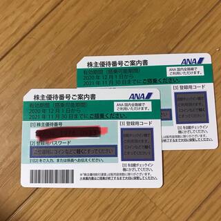 エーエヌエー(ゼンニッポンクウユ)(ANA(全日本空輸))のANA 株主優待券 全日空(航空券)