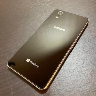 レノボ(Lenovo)のLenovo Windows10 Mobile 503LV 中古品(スマートフォン本体)