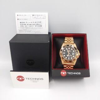 TECHNOS - お値段相談可 未使用品 テクノス メンズ腕時計
