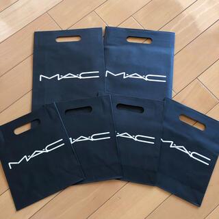 マック(MAC)のMAC 化粧品 ショッパー 袋(ショップ袋)