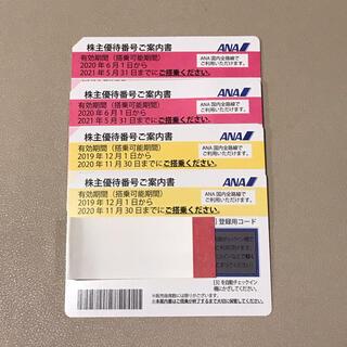 エーエヌエー(ゼンニッポンクウユ)(ANA(全日本空輸))のANA 全日空 株主優待券 割引券(航空券)