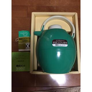 象印 - 未使用 象印ポット きゅうす 魔法瓶 グリーン