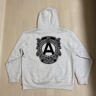 シュプリーム(Supreme)のsupreme ANTI hooded sweatshirt パーカー 20aw(パーカー)
