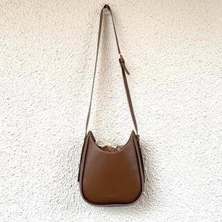 新品ショルダーバッグ可愛いシンプル大人気ブラウン (ショルダーバッグ)