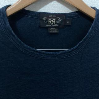 ダブルアールエル(RRL)のRRL インディゴポケットTシャツ(Tシャツ/カットソー(半袖/袖なし))