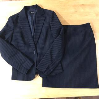 ニッセン(ニッセン)のピンストライプ スカートスーツ(スーツ)