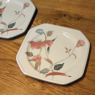 ミカサ(MIKASA)のミカサ プレート 皿 花柄【未使用】(食器)