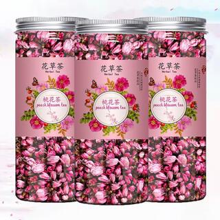 【花茶】桃花茶 40g/缶(茶)