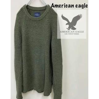アメリカンイーグル(American Eagle)のアメリカンイーグル American eagle ニット 古着 美品(ニット/セーター)