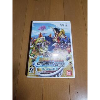 Wii ワンピース アンリミテッドクルーズ エピソード1とエピソード2(家庭用ゲームソフト)