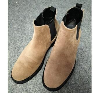 レイジブルー(RAGEBLUE)のレイジブルー サイドゴアブーツ ブラウン 茶 L シューズ 靴 送料無料(ブーツ)