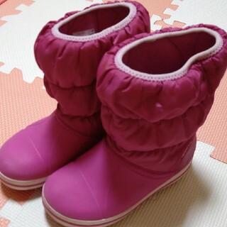 クロックス(crocs)のクロックス スノーブーツ 18.5センチ(ブーツ)