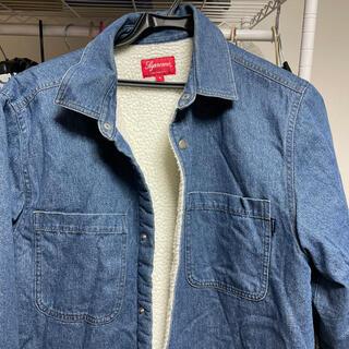 シュプリーム(Supreme)のSサイズSupreme Sherpa Lined Denim Shirt    (シャツ)