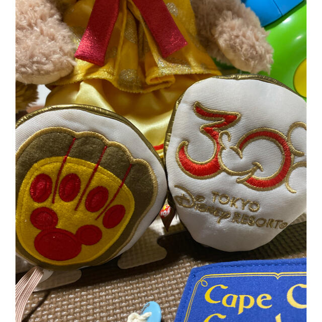 ダッフィー(ダッフィー)の♡ディズニー30周年♡スプリングヴォャッジ ダッフィー&シェリーメイ Sサイズ エンタメ/ホビーのおもちゃ/ぬいぐるみ(ぬいぐるみ)の商品写真