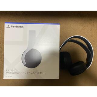プレイステーション(PlayStation)の【超美品】PS5 PULES 3D ワイヤレスヘッドセット(ヘッドフォン/イヤフォン)