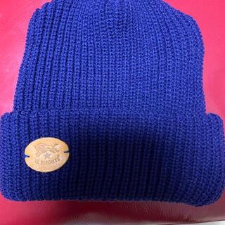 イルビゾンテ(IL BISONTE)のニット帽(ニット帽/ビーニー)