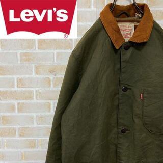 リーバイス(Levi's)の専用2点● オイルドジャケット カーキ コーデュロイ 中綿 ボーダー(その他)