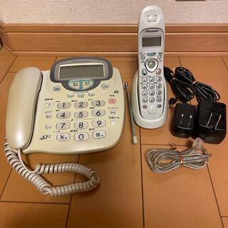 パイオニア(Pioneer)の【子機付き】 電話機 パイオニア Tf-kz2300(その他)