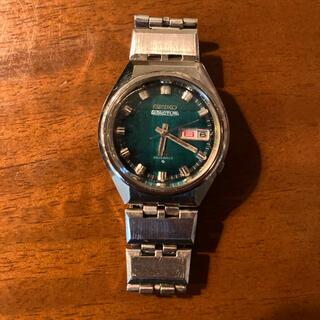 セイコー(SEIKO)の 自動巻 デイデイト グリーン SS SEIKO 5 ACTUS ジャンク(腕時計(アナログ))