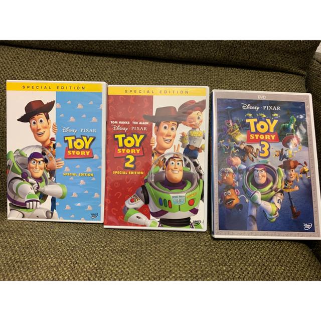 トイ・ストーリー(トイストーリー)のトイ・ストーリー 1.2.3 DVDセット エンタメ/ホビーのDVD/ブルーレイ(キッズ/ファミリー)の商品写真