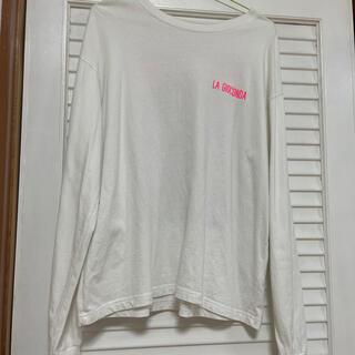 スピンズ(SPINNS)のホワイトロングTシャツ(Tシャツ(長袖/七分))
