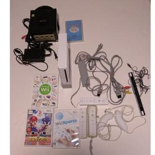 ウィー(Wii)のwii ゲームキューブ 動作OK!(家庭用ゲーム機本体)