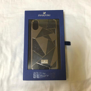 スワロフスキー(SWAROVSKI)のSWAROVSKI iPhone X ケース(iPhoneケース)