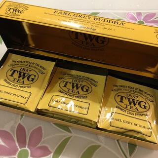 TWG TEA アールグレイブッダ グリーンティー 14包(茶)