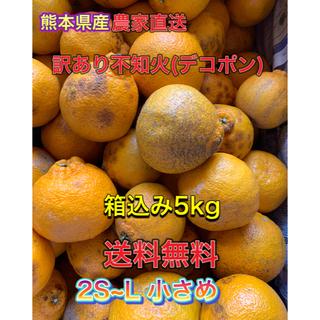 農家直送 減農薬 訳あり不知火(デコポン)5kg (フルーツ)