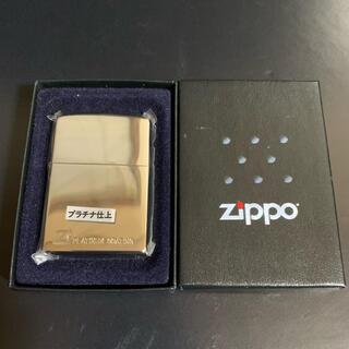 ジッポー(ZIPPO)の【新品未使用】2005年製 ZIPPO PLATINUM COATING(タバコグッズ)