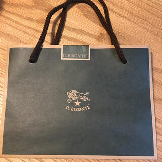 イルビゾンテ(IL BISONTE)のイルビゾンテ紙袋(ショップ袋)