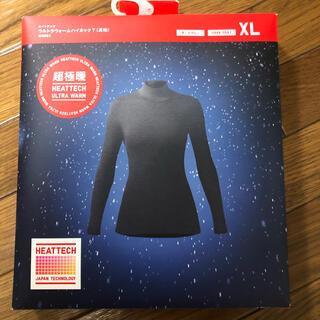 ユニクロ(UNIQLO)の専用☆新品未使用☆ユニクロ ヒートテック超極暖 XL 黒(アンダーシャツ/防寒インナー)