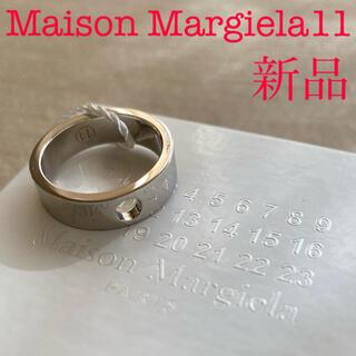 マルタンマルジェラ(Maison Martin Margiela)の新品 メゾン マルジェラ 11 カットアウト シルバーリング 925(リング(指輪))