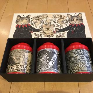 ヒグチユウコ  2017 紅茶セット 缶 ボックス (小物入れ)