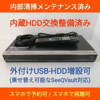 シャープ(SHARP)のSHARP ブルーレイレコーダー【BD-W560】◆HDD交換済み◆外観良好美品(ブルーレイレコーダー)