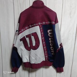 ウィルソン(wilson)の90s WILSON CHICAGO トラック ジャケット ブルゾン ジャージ(ナイロンジャケット)