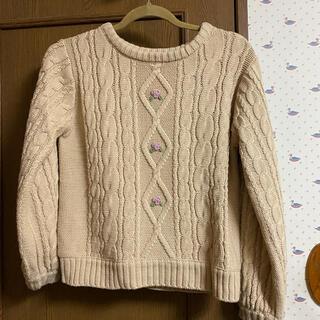 フィント(F i.n.t)のFint 刺繍ニット(ニット/セーター)