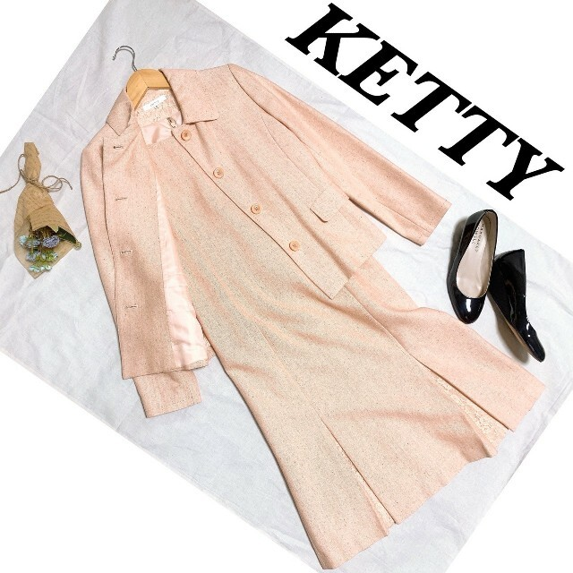 ketty(ケティ)の【極上品】KETTY ワンピース セットアップ フォーマル サイズ2 レディースのフォーマル/ドレス(スーツ)の商品写真