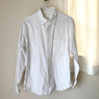 ユニクロ(UNIQLO)のフランネルシャツ S(シャツ)