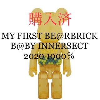 メディコムトイ(MEDICOM TOY)のMY FIRST BE@RBRICK INNERSECT 2020 1000%(キャラクターグッズ)