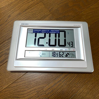 セイコー(SEIKO)の電波時計(置時計)